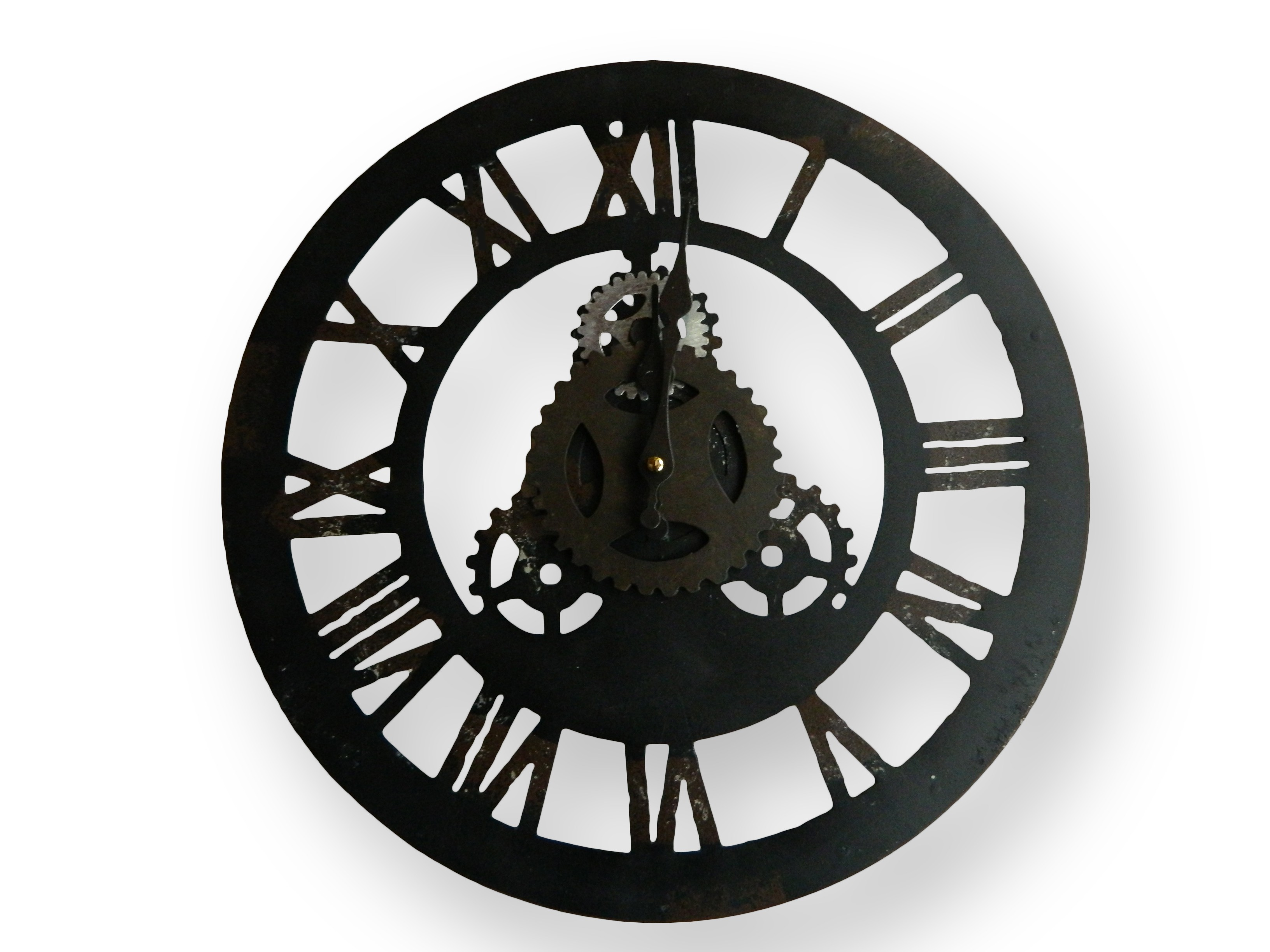 Horloge fer forge for Horloge en fer forge noir