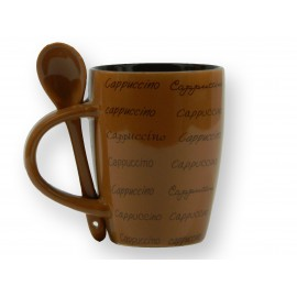Mug cuillère en céramique