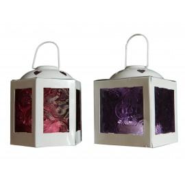 Lot de 2 lanternes