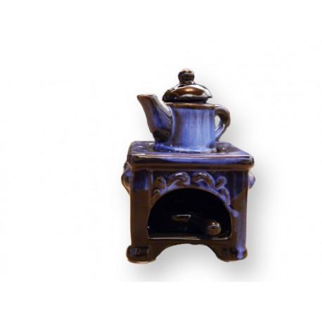 Brûle parfum cuisinière avec anse