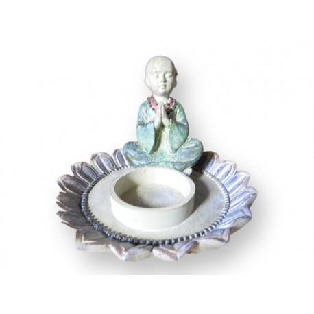 Bouddha bougeoir
