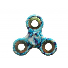 Hand Spinner camouflage bleu