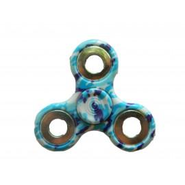 Hand Spinner camouflage bleu