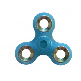 Hand Spinner bleu transparent